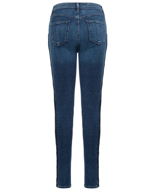High Rise Skinny-Fit Jeans mit Streifen RAG & BONE