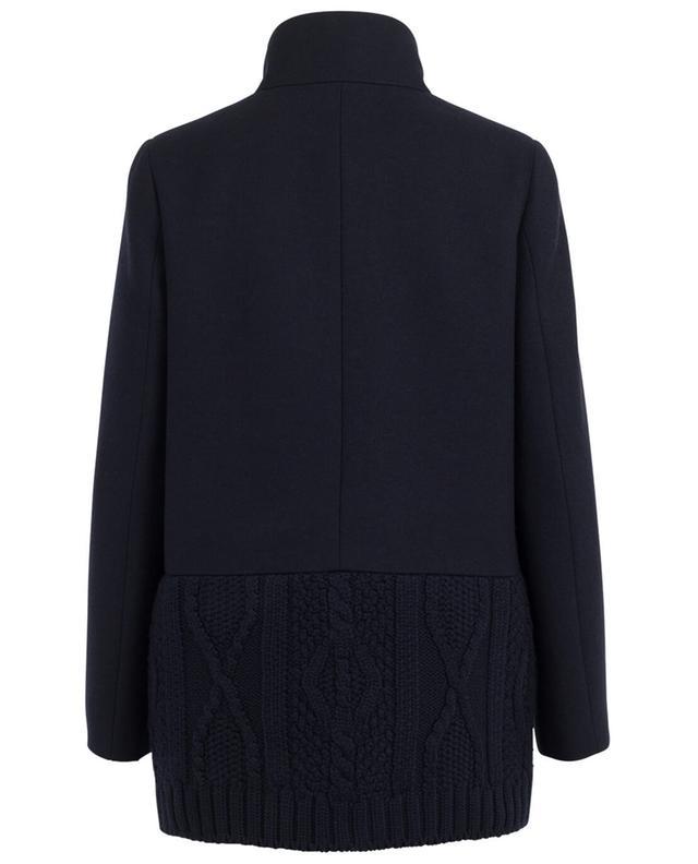 Halblanger Mantel aus Woll- und Materialmix FAY