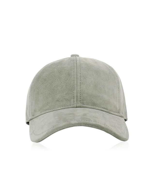 Rag&bone casquette en daim gris a41956