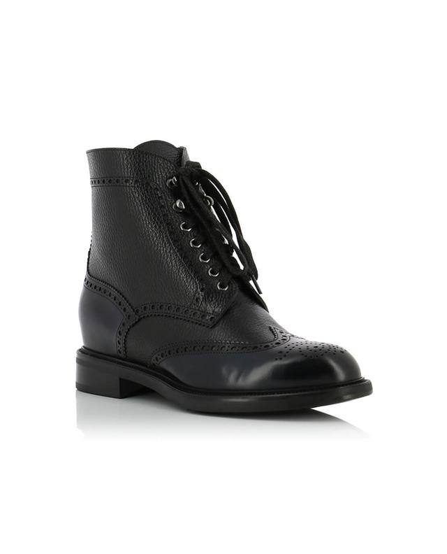 Leather ankle boots SANTONI
