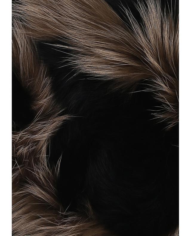 Yves salomon kragen aus pelz schwarz a42081