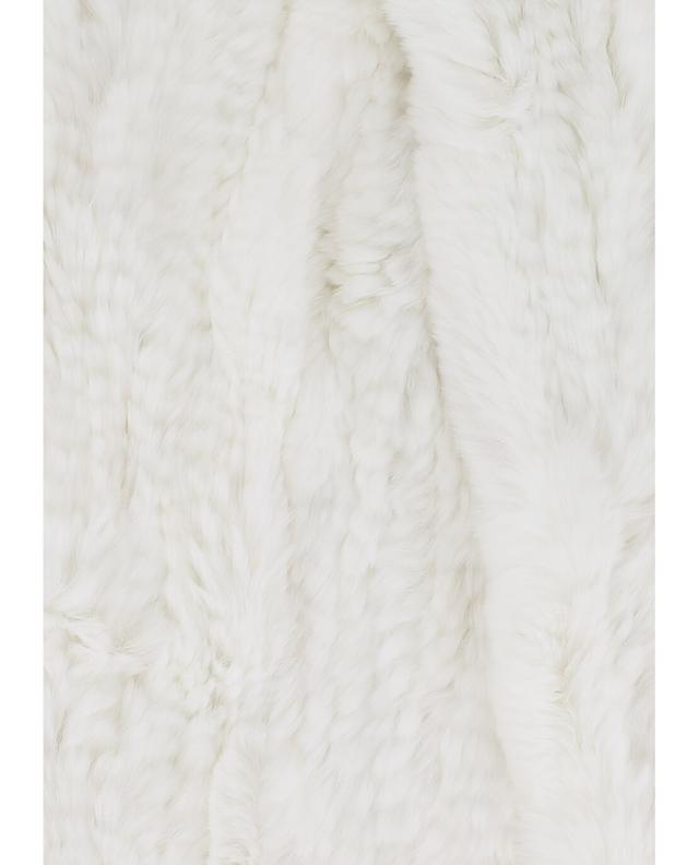 Real fur scarf YVES SALOMON
