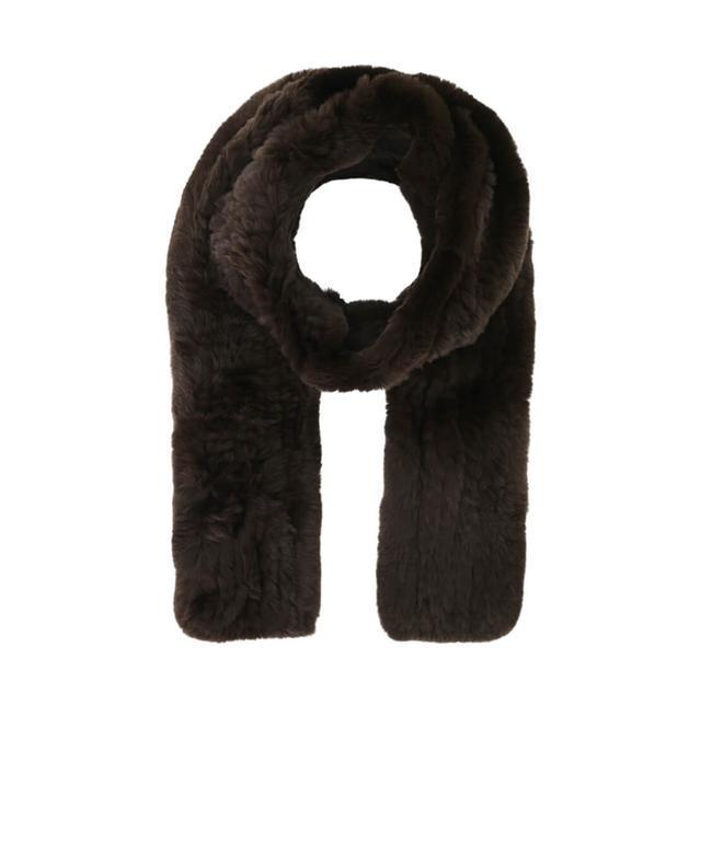 Real fur scarf YVES SALOMON