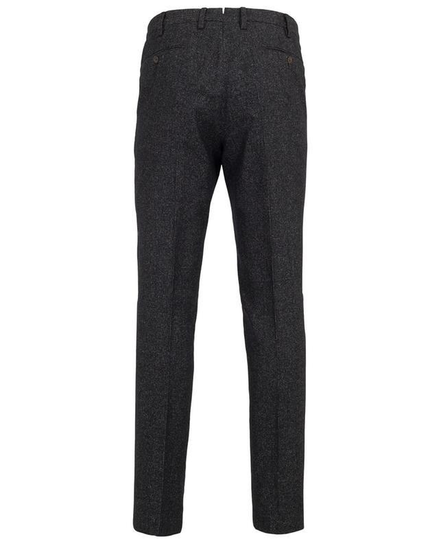 Virgin wool and silk blend trousers PT01