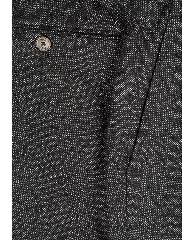 Hose aus Schurwoll- und Seidenmix PT01