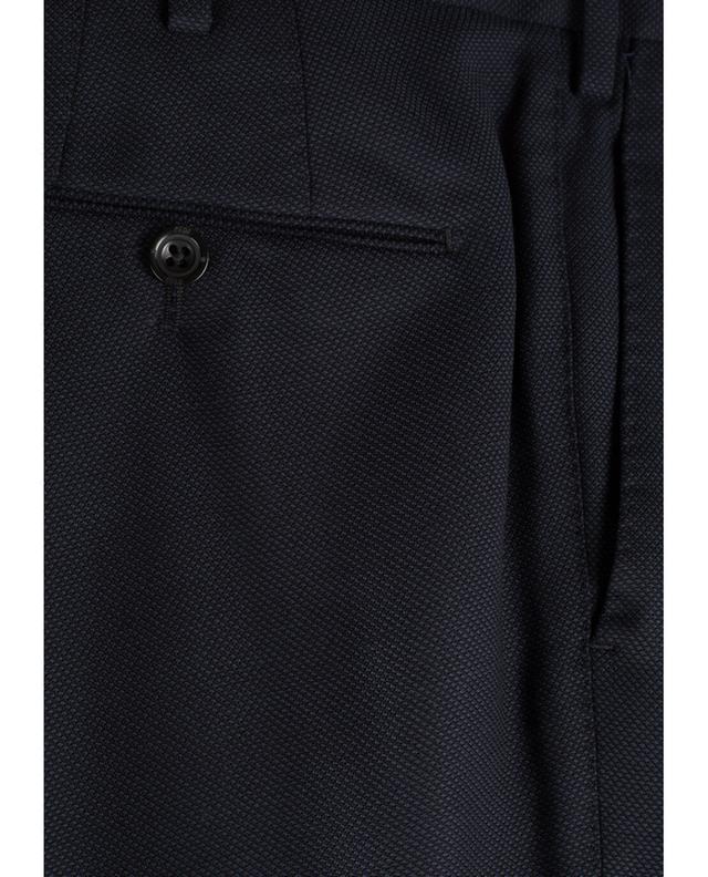Pantalon classique en laine vierge Welton Academy PT01