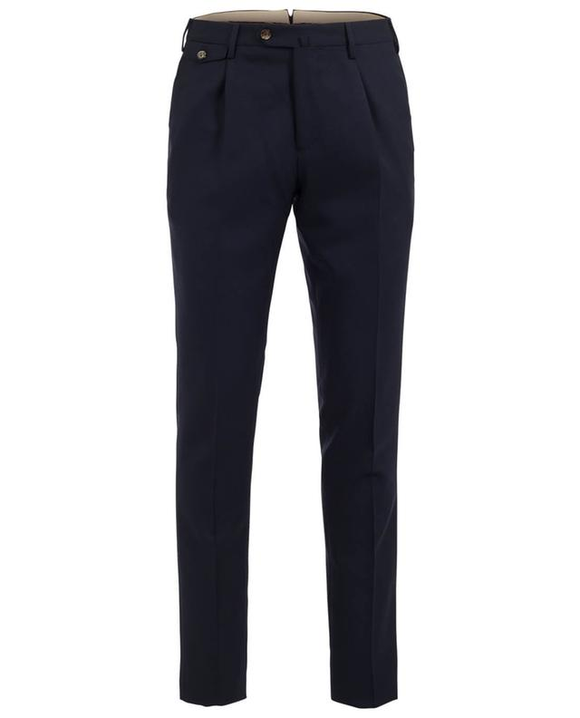 Pantalon classique en laine vierge The Draper PT01