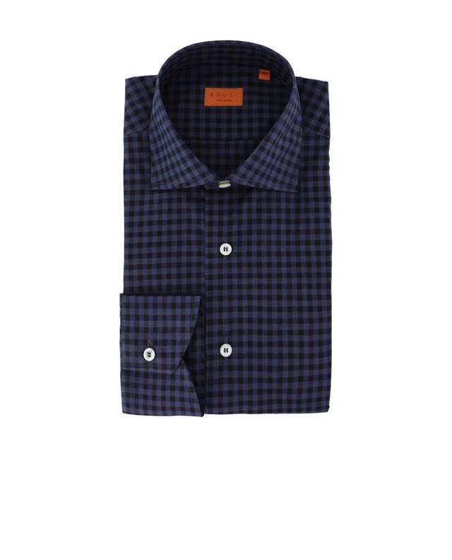 Kariertes Hemd aus Baumwolle Heritage BRULI