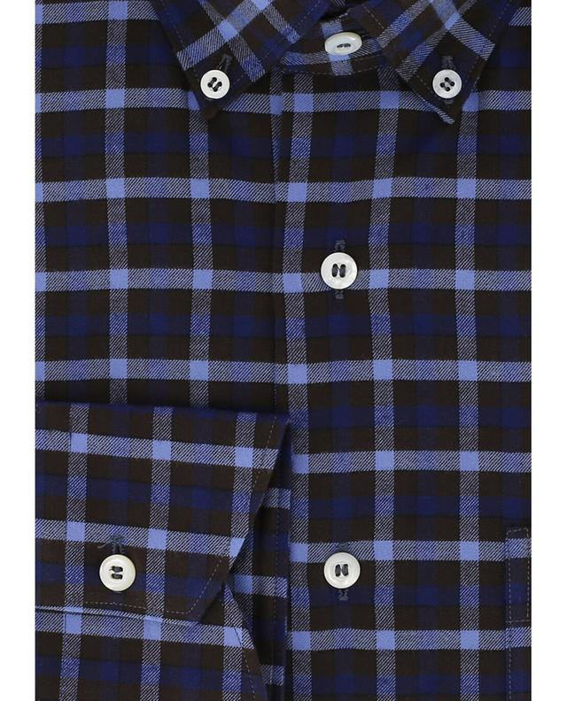 Chequered flannel shirt BRULI