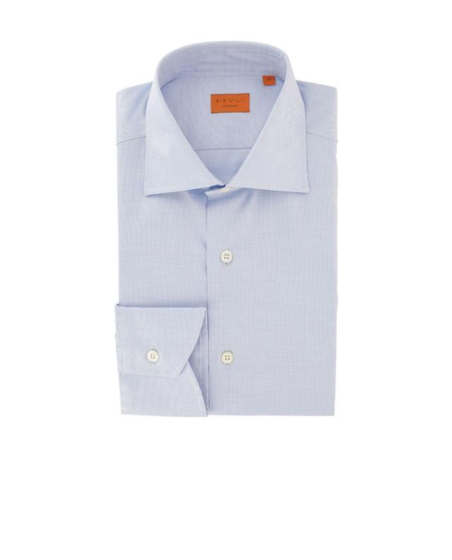 Gemustertes Hemd aus Baumwolle BRULI