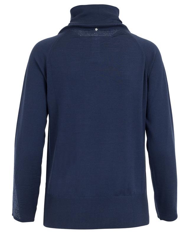 Long-sleeved virgin wool top LORENA ANTONIAZZI