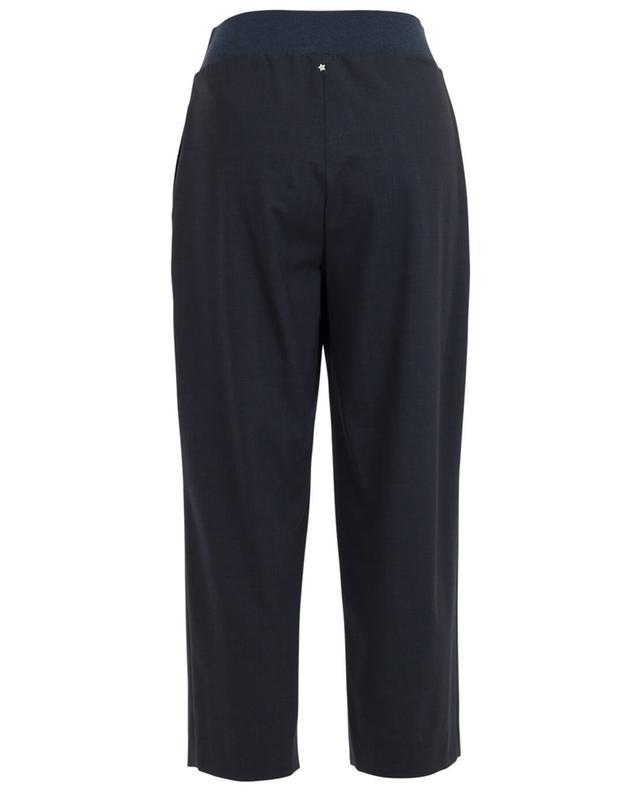 Pantalon large en laine vierge mélangée LORENA ANTONIAZZI