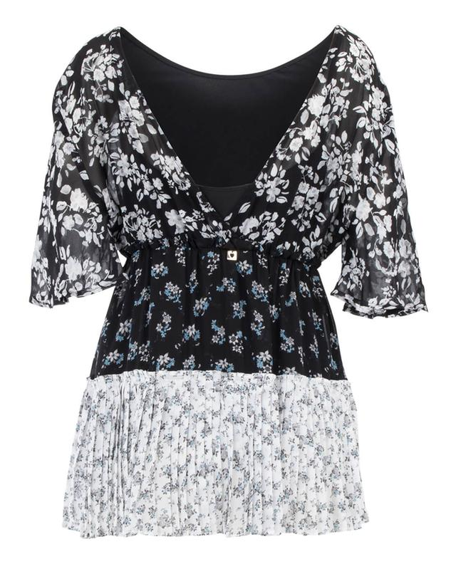 Tunic with flower print TWINSET