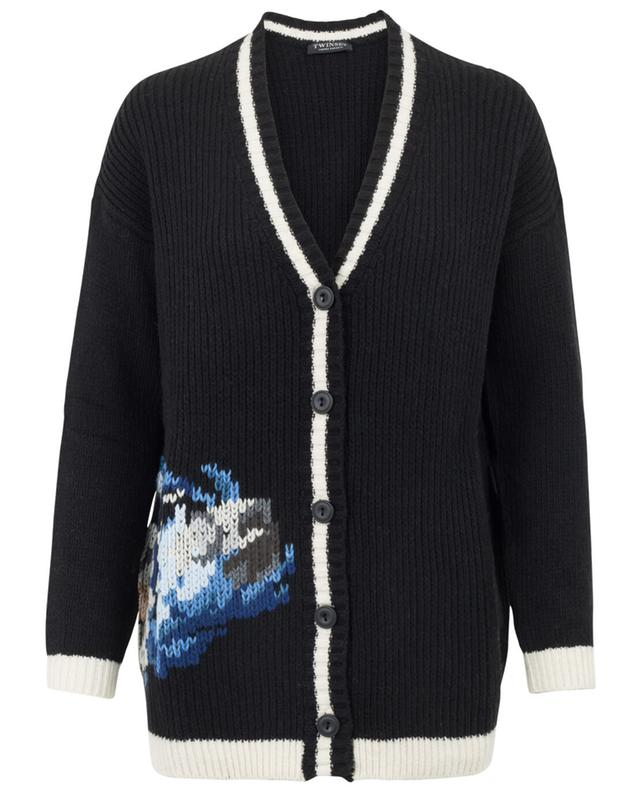 Wool blend cardigan TWINSET