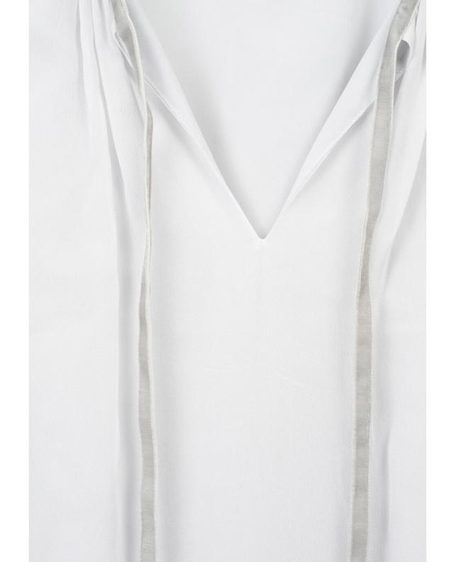 Midilanges Kleid aus Viskose TWINSET