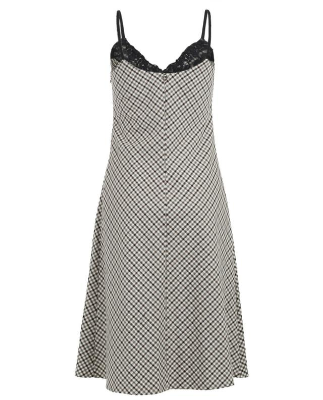 Robe midi à carreaux TWINSET