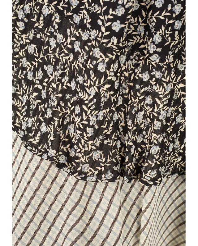 Short sleeves viscose top TWINSET