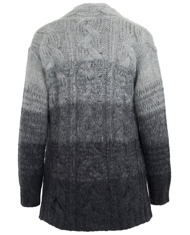Mohair and wool cardigan TWINSET