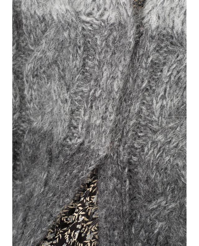 Cardigan aus Mohair und Wolle TWINSET