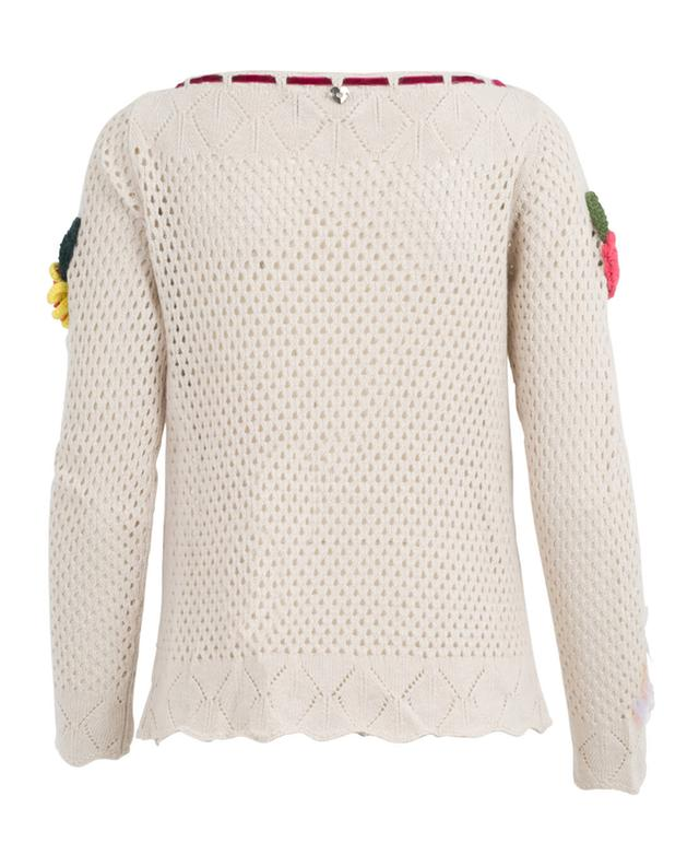 Viscose, cotton, wool and cashmere sweater TWINSET