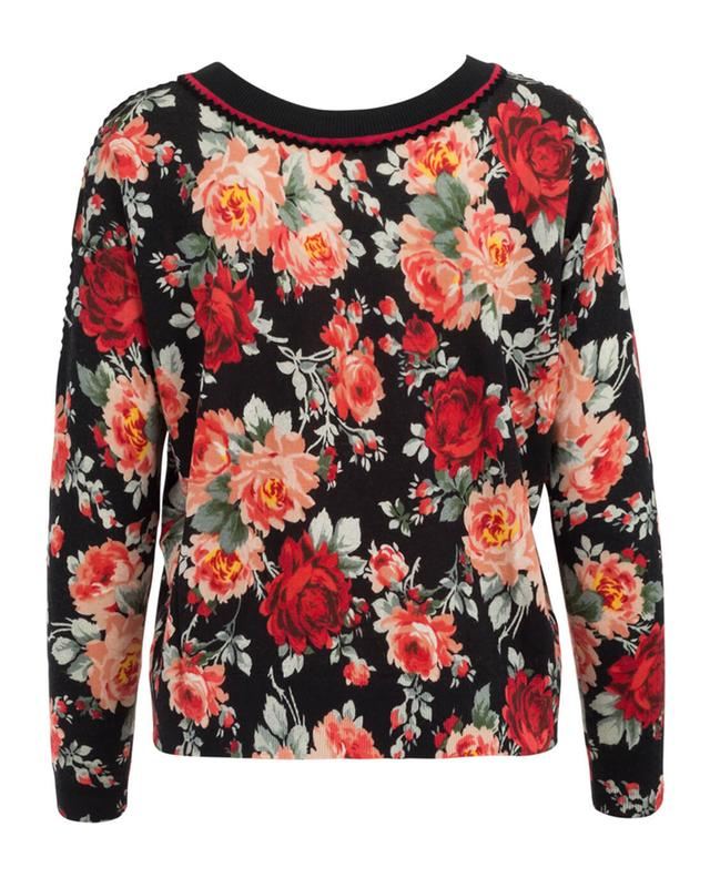 Bedruckter Pullover aus Wolle Roses TWINSET