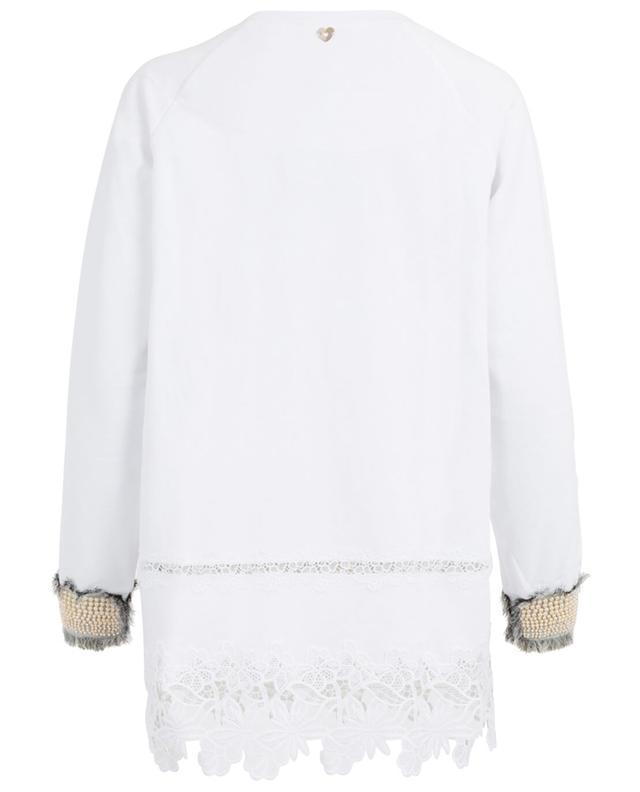 Sweatshirt en coton TWINSET