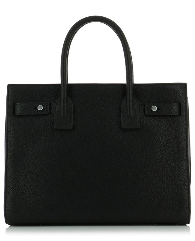 Saint laurent paris sac de jour grained leather handbag black