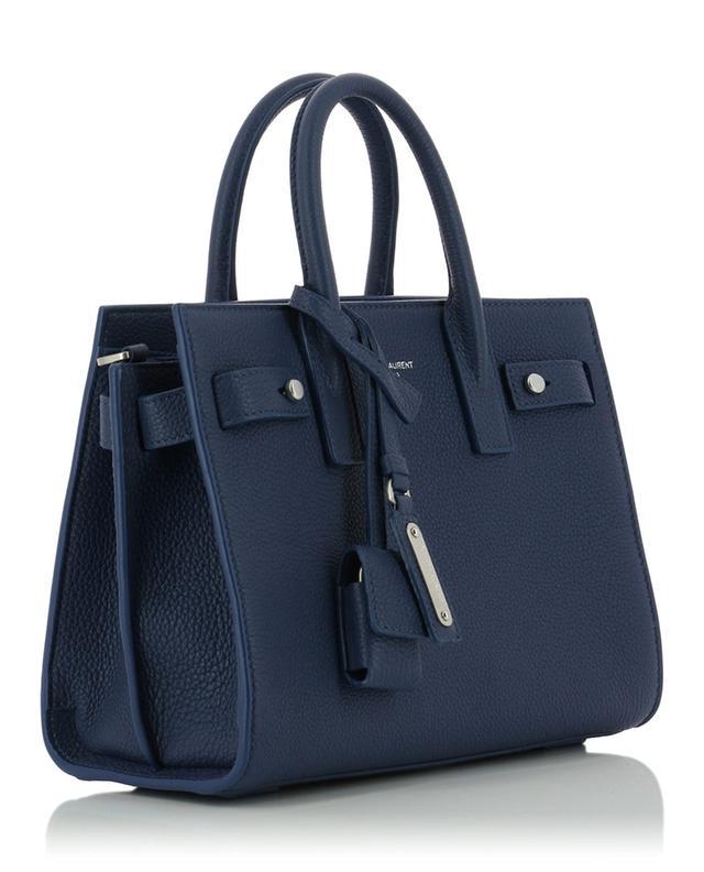 Sac de Jour Nano grained leather handbag SAINT LAURENT PARIS