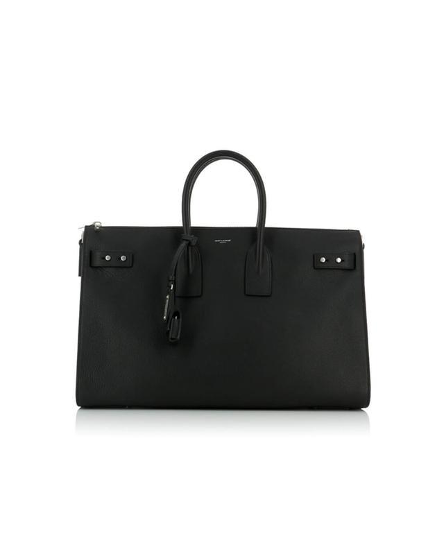 Saint laurent paris sac de jour duffle bag black a42756