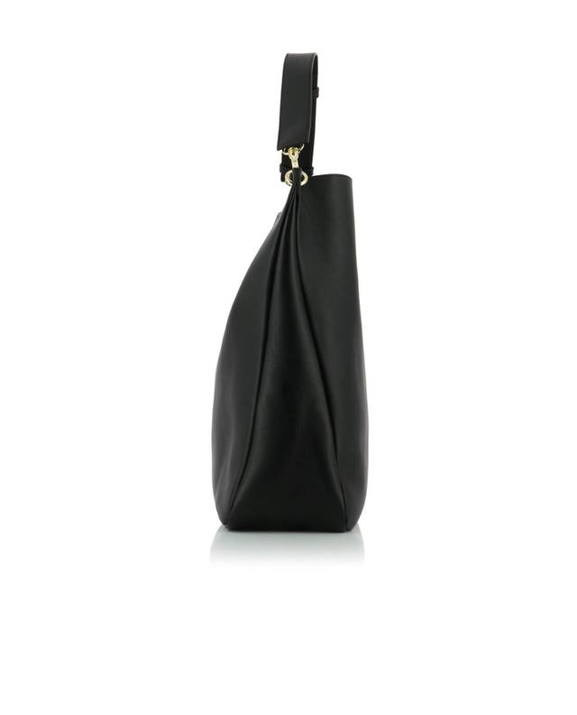 J.w anderson ltd pierce hobo leather shoulder bag black