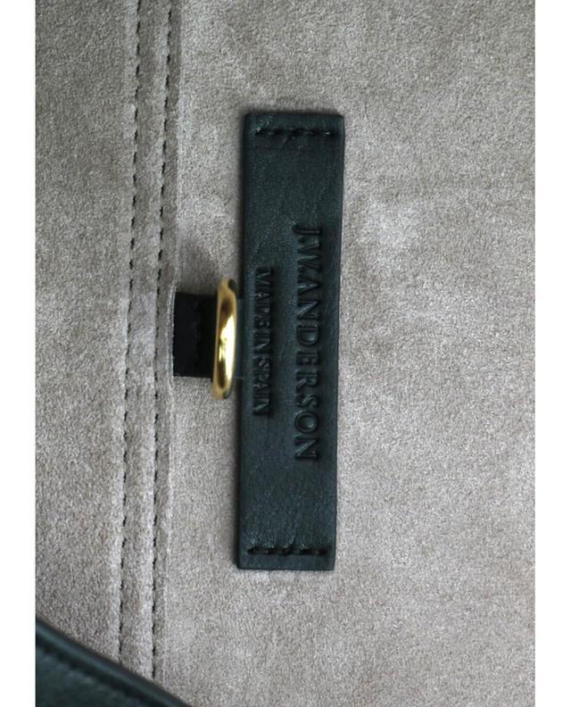 J.w anderson ltd sac porté épaule en cuir pierce hobo noir