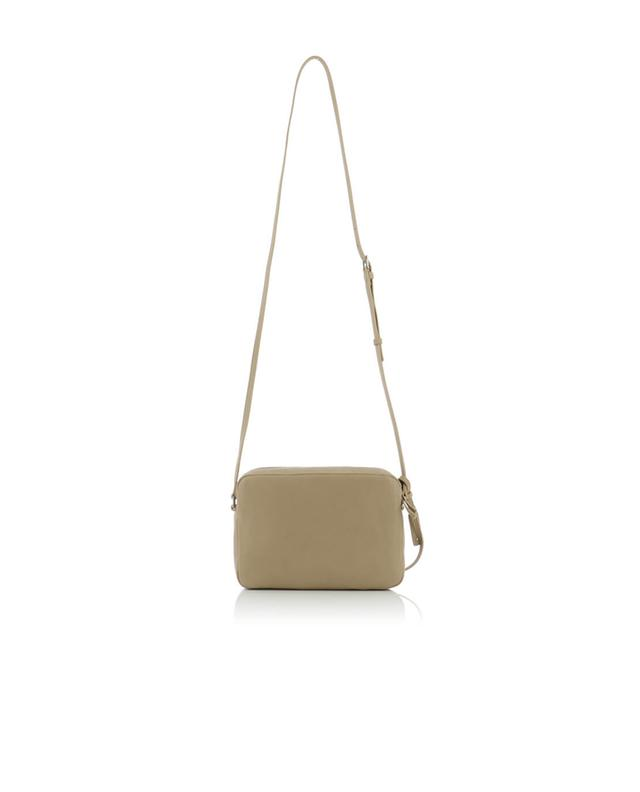 Saint laurent paris poncho lux leather crossbody bag beige