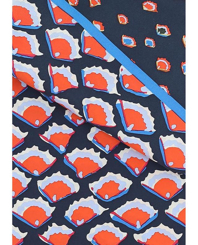 Fiori silk shawl TORY BURCH