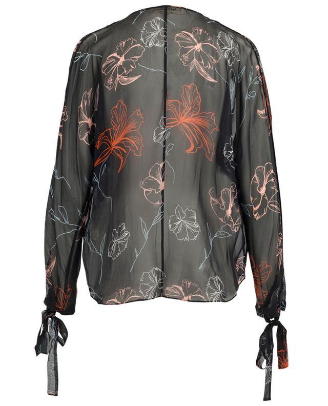 Bluse aus Seide mit Print DIANE VON FURSTENBERG