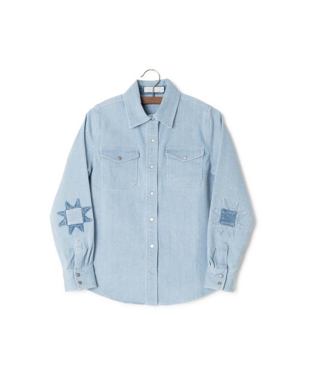 Dallas cotton blend shirt STELLA MCCARTNEY