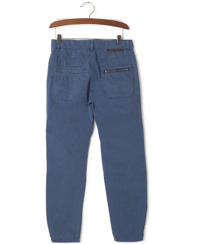 Stella mccartney pantalon en coton marlow indigo a43300