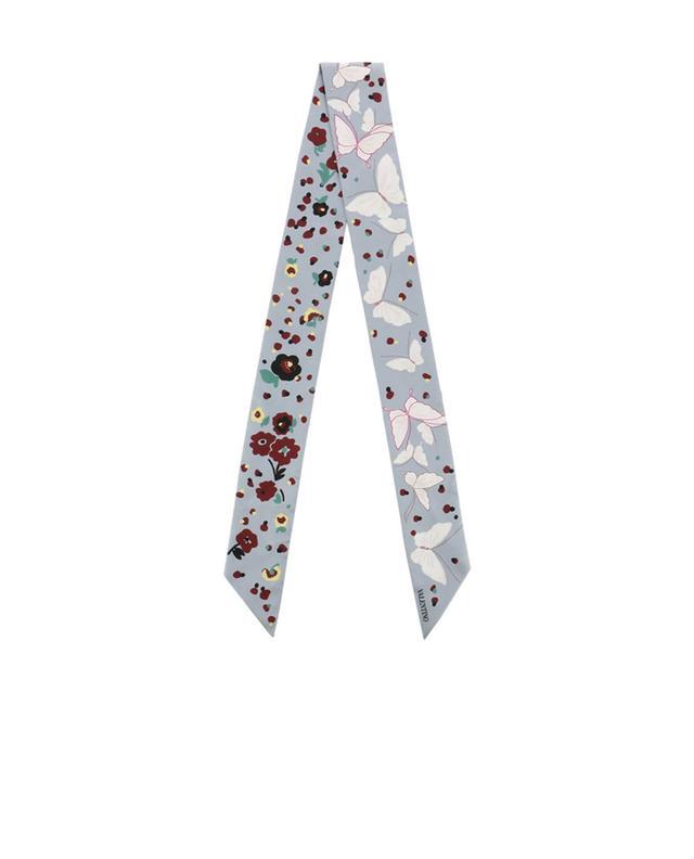Printed silk scarf VALENTINO