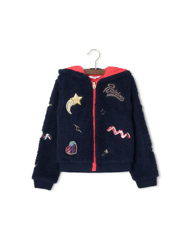 Plush cardigan LITTLE MARC JACOBS