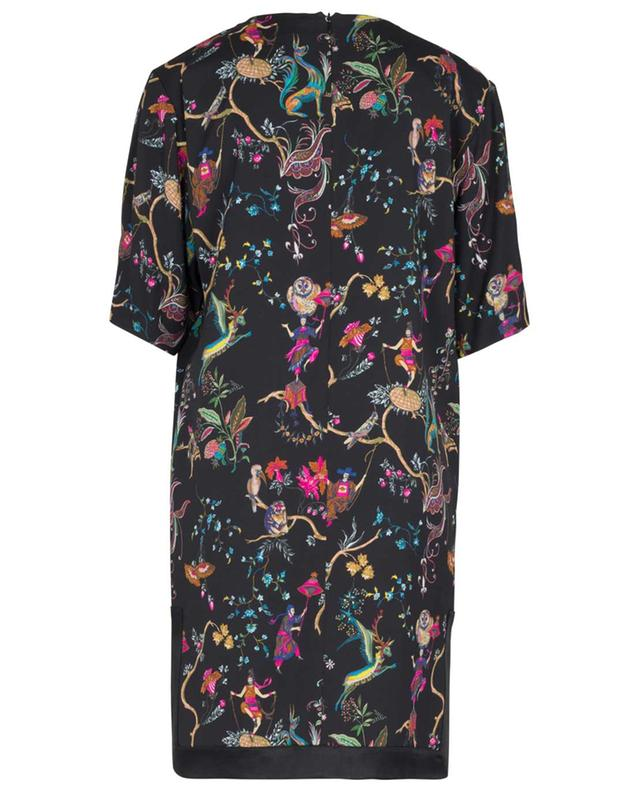 Fancy print adorned twill mini dress ETRO