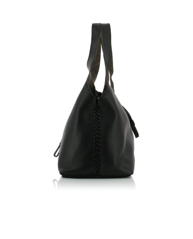Callista sac à main en cuir meteorite city noir a43768