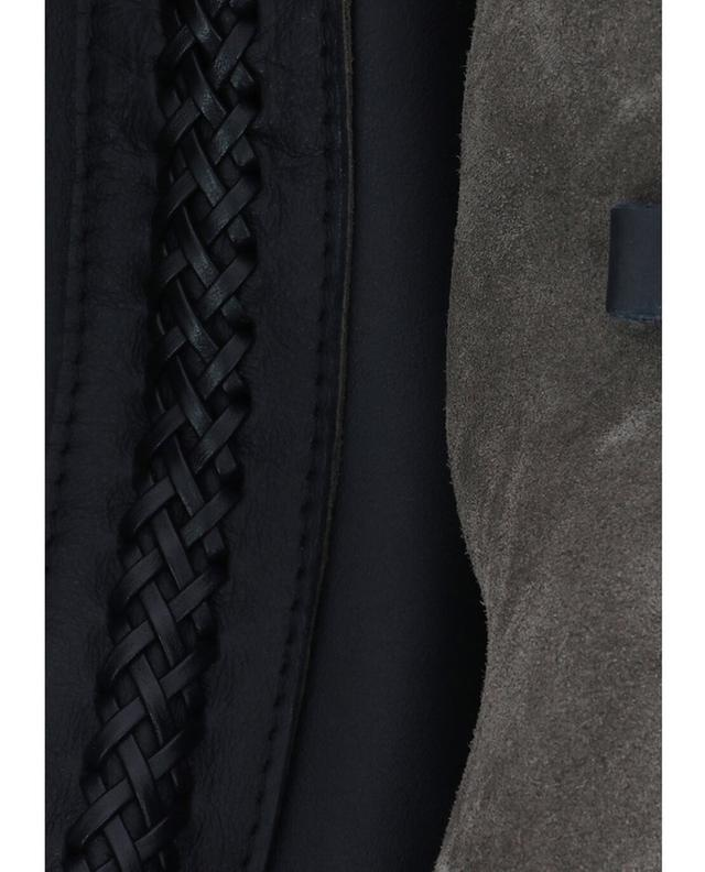 Callista meteorite city leather handbag black a43768