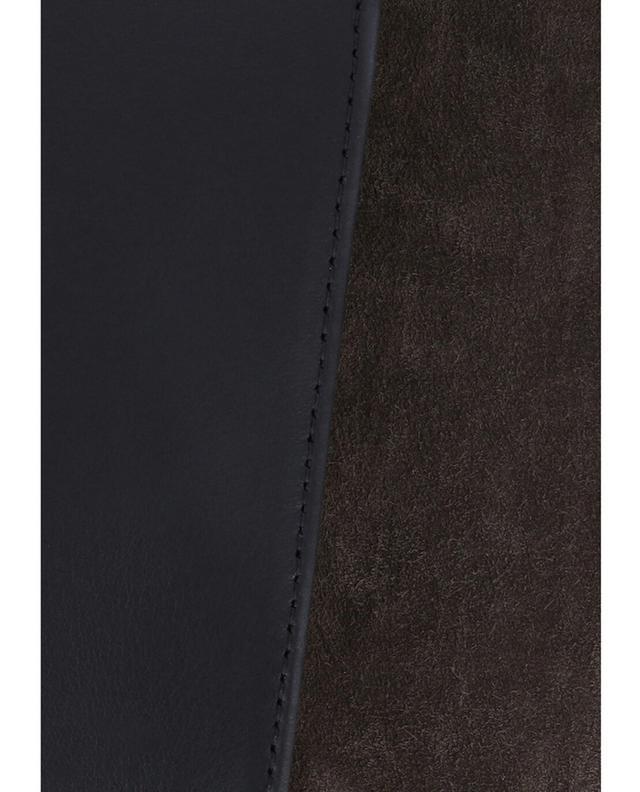 Umhängetasche aus Leder Meteorite Mini Box CALLISTA