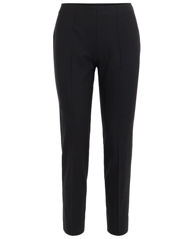 Virgin wool blend slim fit trousers PIAZZA SEMPIONE