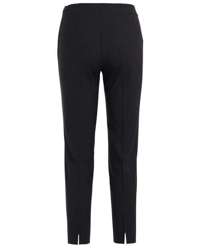 Virgin wool blend slim fit trousers PIAZZA SEMPIONE