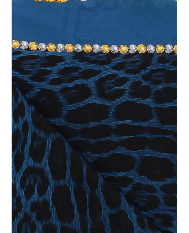 Halstuch aus Seide mit Print ROBERTO CAVALLI