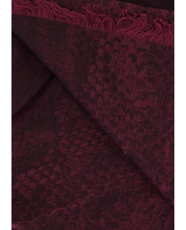 Wool and silk shawl ROBERTO CAVALLI