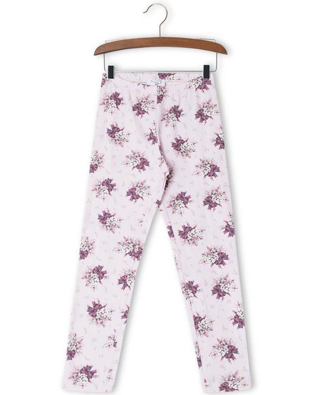 Bedruckte Leggings aus Baumwolle MONNALISA
