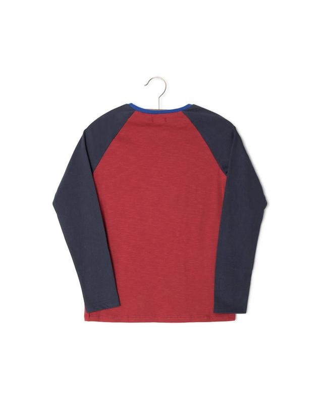Long-sleeved cotton t-shirt IKKS JUNIOR