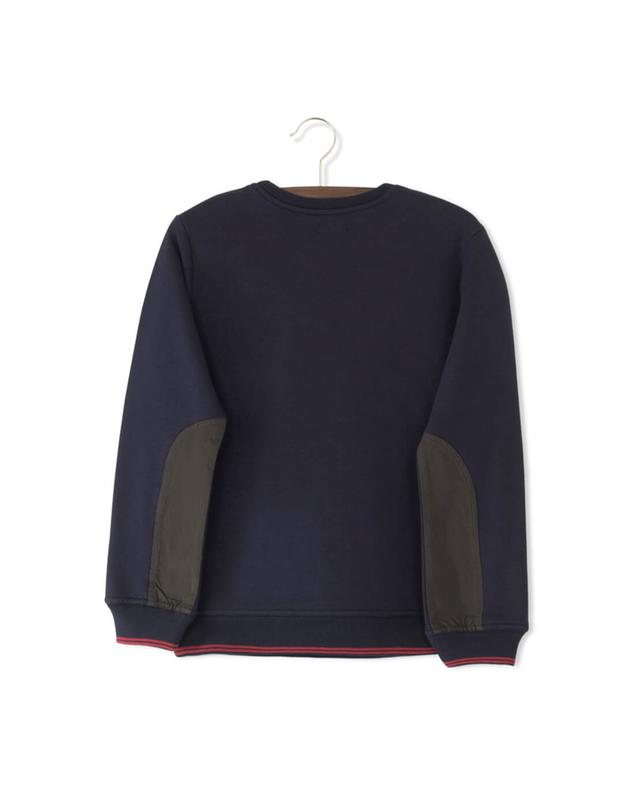 Sweat-shirt en coton mélangé Cargo IKKS JUNIOR