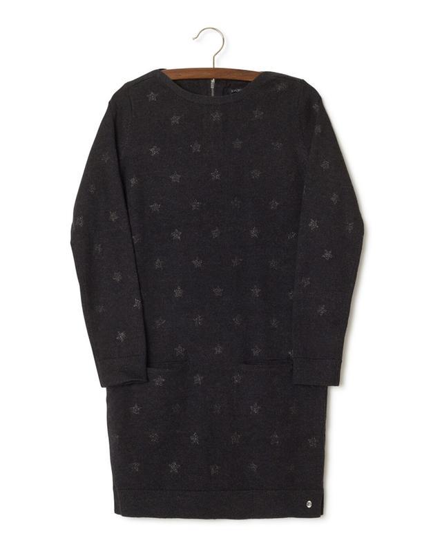 Lucy Sky cotton blend knit dress IKKS JUNIOR